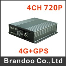 4G and GPS Mobile DVR 4CH 720P MDVR Car Vehicle Bus Taxi  DVR