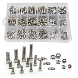 345PCS M5/M6/M8 Stainless Stee