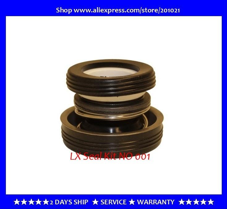 LX pump motor mechanical Seal Kit wholesale bulk order 10pcs/lot + fast shipping lx pump motor mechanical seal kit fit tda50 tda100 tda200 ja50 ja200 lp200 lp250 lp300 pump