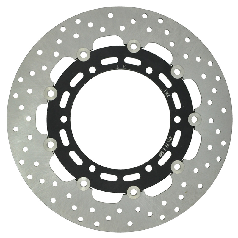 Motorcycle front Brake Disc Rotor For XJ 600N 1998-2003, YZF600R 1996-2007, YZF-R6 1999-2002, TDM 900 2002-2009 FZS 1000 Fazer motorcycle part front rear brake disc rotor for yamaha yzf r6 2003 2004 2005 yzfr6 03 04 05 black color