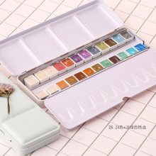 Daniel Smith DS Pearlescent Watercolor pigment precipitation 12 24 48 color watercolor dispensing pearl Color