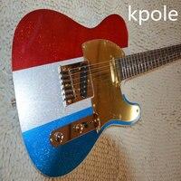 + مصنع + باك أوينز الغيتار الكهربائي 3 الألوان لامع إنهاء الغيتار الكهربائي شحن مجاني