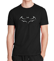 Men T Shirt Casual Short Sleeve T Shirt For Man Batman Print Streetwear 2017 Summer Brand