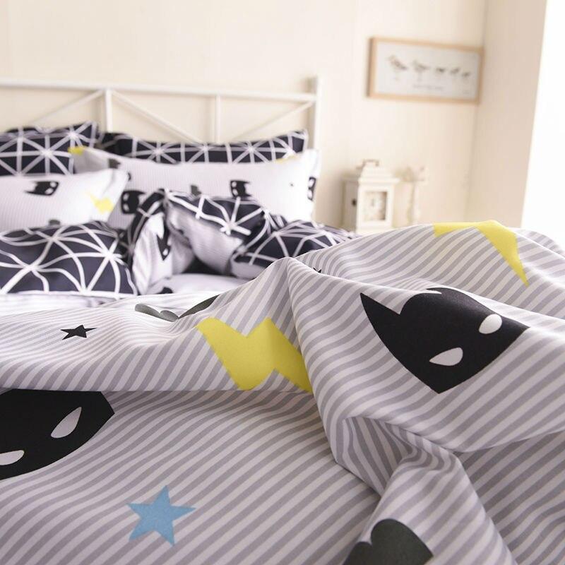 desenhos animados qualidade capa edredon conjunto cama