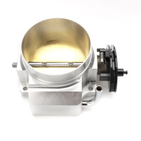 Aluminum 92mm THROTTLE BODY For LS1 LS2 LS3 LS6 LS7 LSXU prated Racing Billet Throttle Body Intake Manifold YC100732 SL