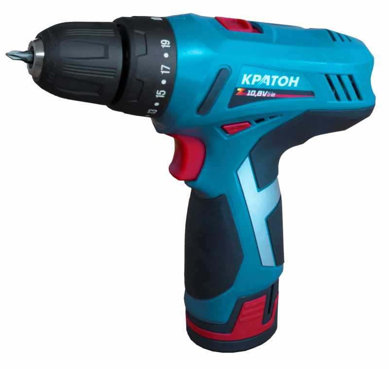 Drill-screwdriver rechargeable KRATON CDL-10-Z drill screwdriver rechargeable kraton cdl 10 1 h