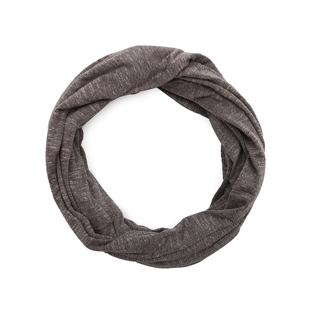 Genovega Autumn Winter Scaf Warm Infinity Scarf All-match Fashion Women Ring Scarves Solid Soft Pocket Loop Scarf For Female