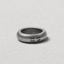 Мужской комплект ювелирных изделий из кольца и браслета нержавеющей