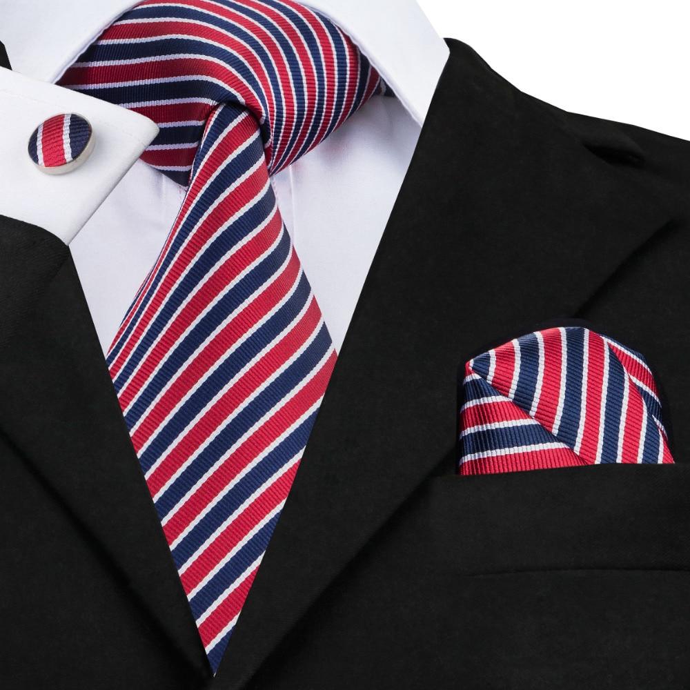 Yibei Mens Ties Deep Green Knoten Krawatte 100% Reiner Seide Krawatten Dunkle Türkis Diagonalen Streifen Corbata Teflon Bekleidung Zubehör