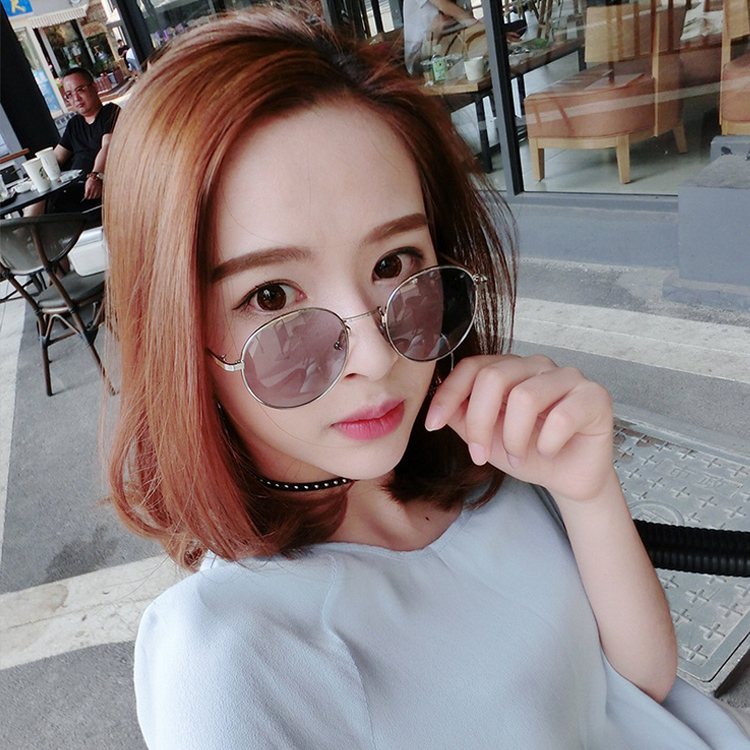 Vintage Small Round Sunglasses Women Men Classic Brand Designer Metal Pink  Retro Mirror Sun Glasses Female Lady UV400 -in Sunglasses from Women s  Clothing ... a49ac3c0a4