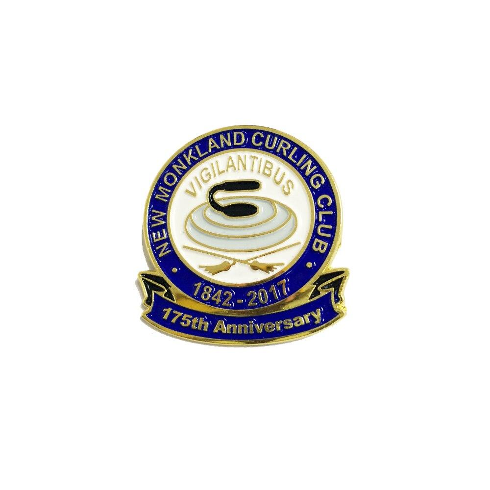 Ev ve Bahçe'ten İğneler ve Rozetler'de Özel rozet Demir Kazınmış Yumuşak Emaye veya Baskılı Kişiselleştirilmiş Logo Yaka Pin'da  Grup 1