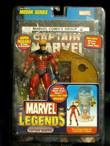 "CAPTAIN MARVEL MARVEL LEGENDS TOY BIZ  6"" ACTION FIGURE Avengers"