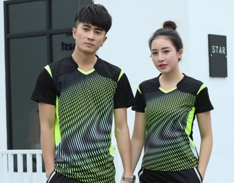 Sale Unisex New Badminton Sport T-shirts,tennis Jersey,polyester Quick-drying Sweatshirt, Table Shirt Clothes M-4xl(China)