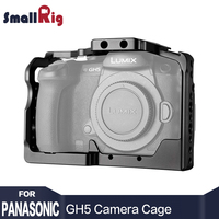 SmallRig DSLR Camera Cage For Panasonic Lumix GH5 With Cold Shoe Mount 1 4 3 8