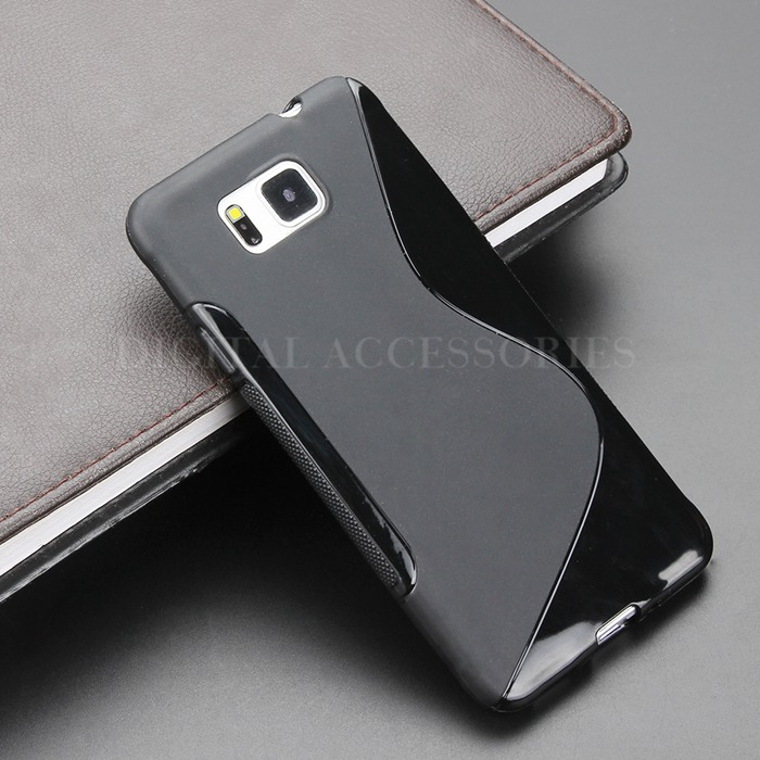 cover samsung galaxy alpha silicone
