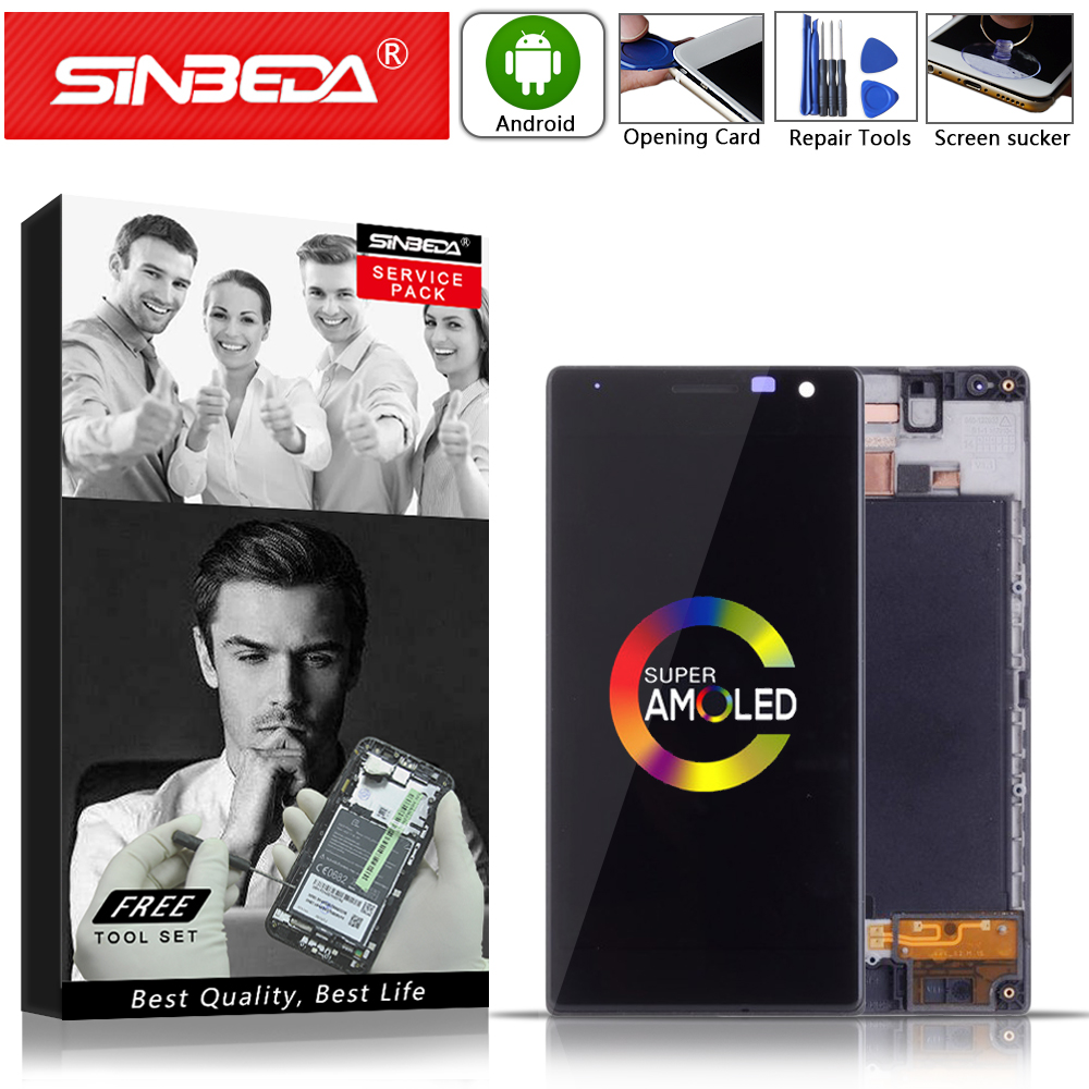 4.7Sinbeda AMOLED For NOKIA Lumia 730 LCD Touch Screen withFrame Replacement For NOKIA Lumia 730 Display For Nokia 735 RM-1038@4.7Sinbeda AMOLED For NOKIA Lumia 730 LCD Touch Screen withFrame Replacement For NOKIA Lumia 730 Display For Nokia 735 RM-1038@