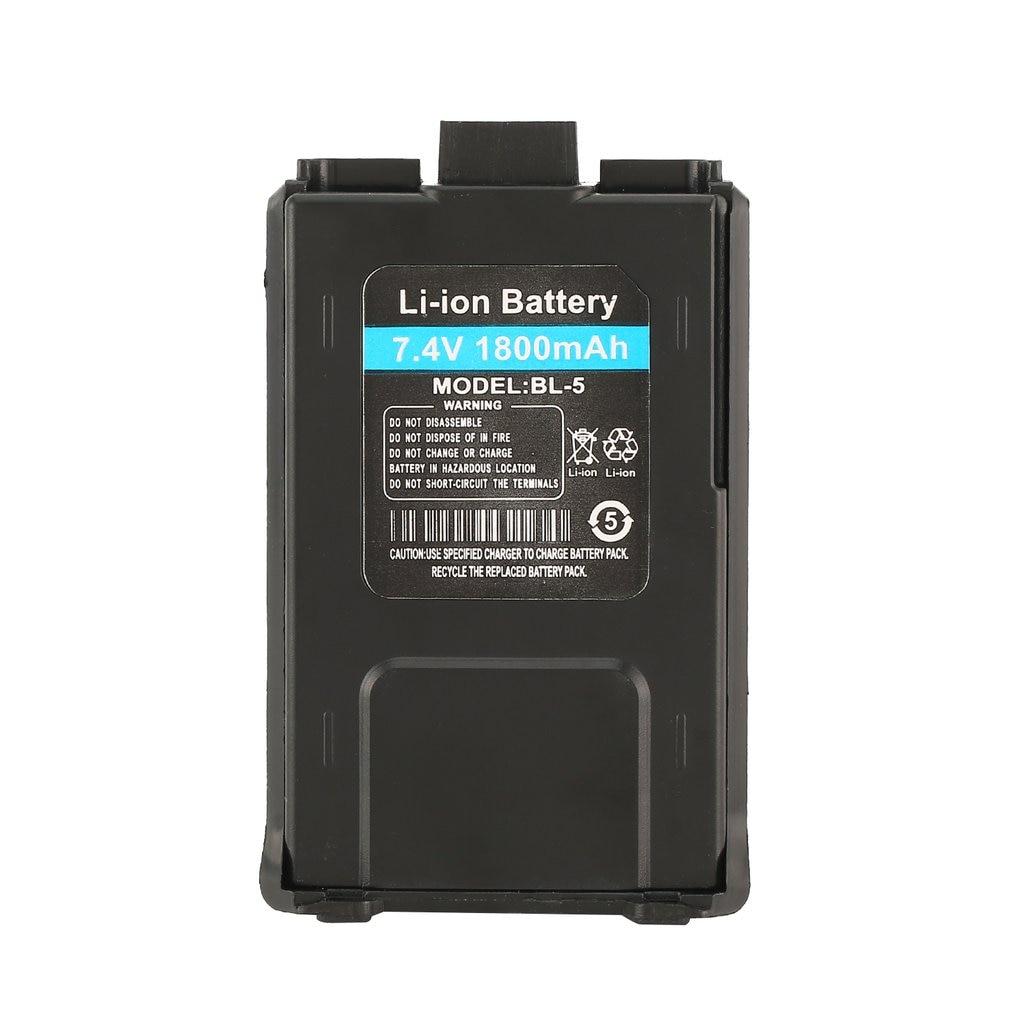 1800mAh Li-ion Battery For Baofeng UV-5R UV-5RE Walkie Talkie Two Way Radio Dropshipping Hot