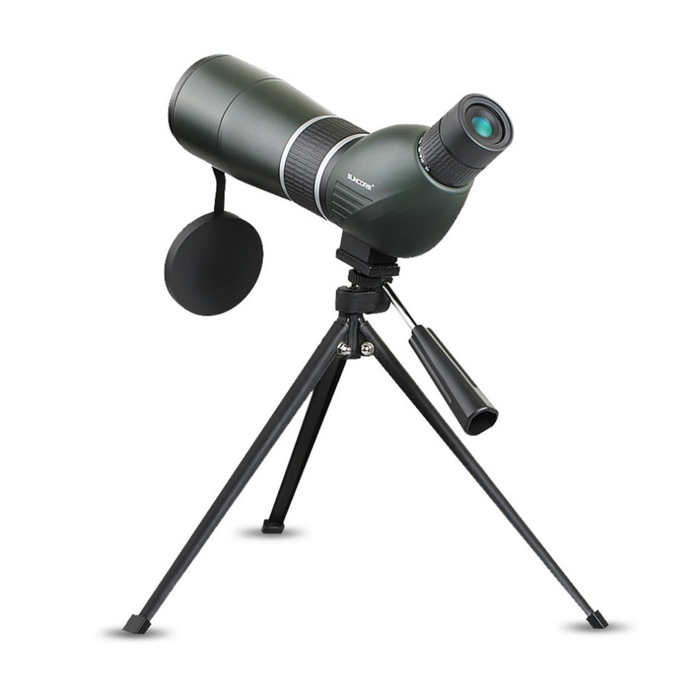 SUNCORE 15-45X60A Spotting Scope Monocular Scope Multi-layer Coating Lens Outdoor Telescope For Birdwatching Hunting Free Ship 40x60 hunting monocular telescope zoom optic lens binoculars spotting scope coating lenses dual focus optic lens
