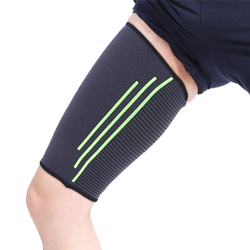 Sport Gear Thigh Support Protector Compression Thigh Wrap Stability Brace Straps Sleeve Men Women