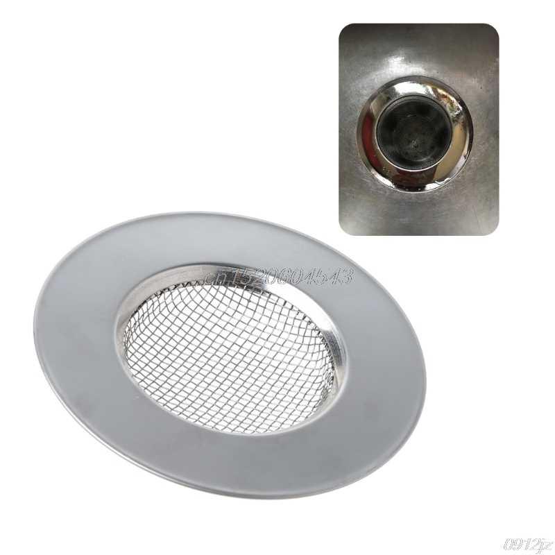 Stainless Steel Hair Catcher Stopper Bathtub Shower Drain Filter Sink Strainer y