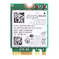 Laptop Network Card For Intel 7260NGW 7260ac 2.4/5G Wireless-AC NGFF Dual band 2x2 867Mbps Wifi+Bluetooth BT 4.0 Wlan M.2 Card