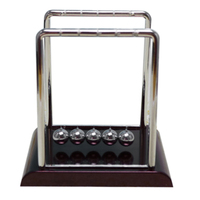 Newton's Cradle inertia Steel Ball Ball pendulum Crafts Bumper Ball (Size: 1)