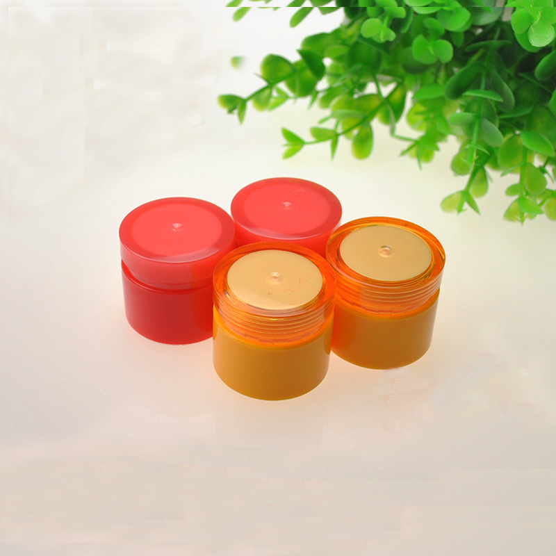 10/20/30/50/100pcs 5g Empty Acrylic High Grade Cream Jar Small Cosmetic Sample Sack Facial Container Trial Vial Packaging Bottle 500g cosmetic grade 99