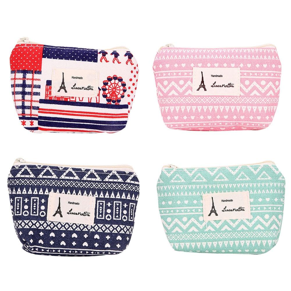 Xiniu Women Girls Cute Fashion Small Coin Purse Wallet Bag canvas mini Change bag cluth Pouch