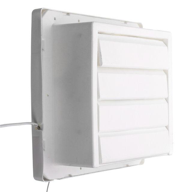 Online Shop W Inch White Ventilation Exhaust Fan For Kitchen - Bathroom air ventilation