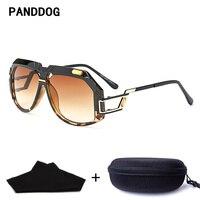 PANDDOG Unique Design Women Men Leopard Print Black Sunglasses Uv400 With Glasses Case And Cloth YWFDY97238