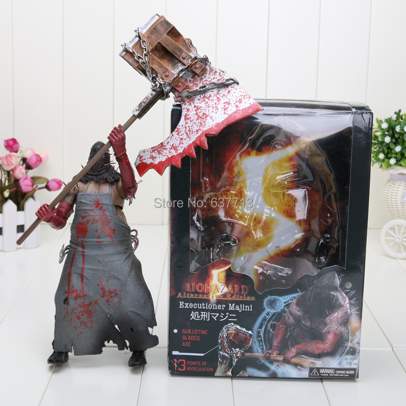 Resident Evil 6 Biohazard Toys : Resident evil inch biohazard executioner majini action