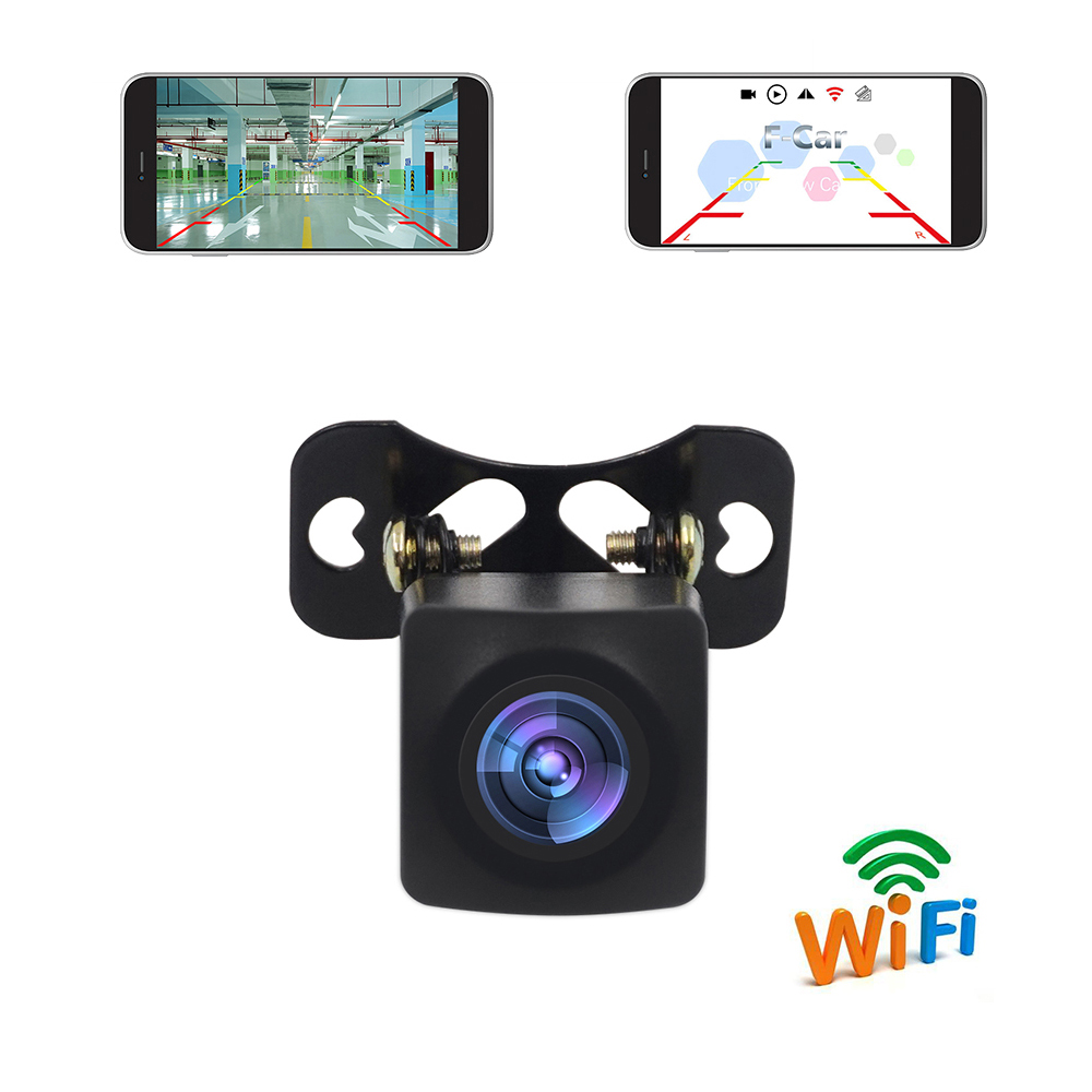 New Arrival!!! WIFI HD Car Reverse Camera Wireless Car Rear View Camera For IOS And Android Phone Video Recording F-CAR APP