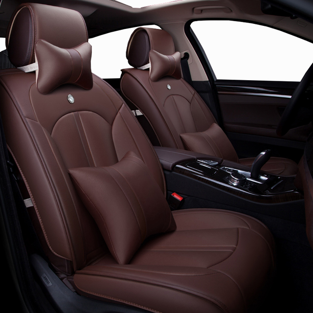 New Luxury Leather Universal Auto Seat Covers For Honda City Opel