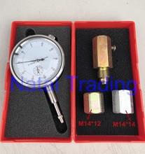 diesel pump plunger pre travel gauge tester with simple seat for diesel pump piston repairing tool