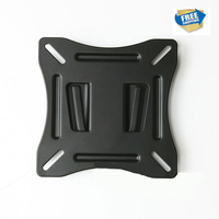 Dsupport Free Shipping WLB021 Universal Fixed Flat LCD LED Slim TV Wall Mount Bracket Fit For
