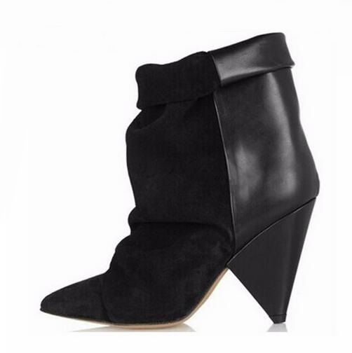 Sexy black boots for women