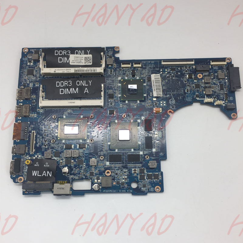 CN-01XFF3 01XFF3 1XFF3 For DELL L511Z Laptop Motherboard DASS8BMBAE1 i7-2640m CPU GT525 2GB HM67 100% Tested Fast Ship