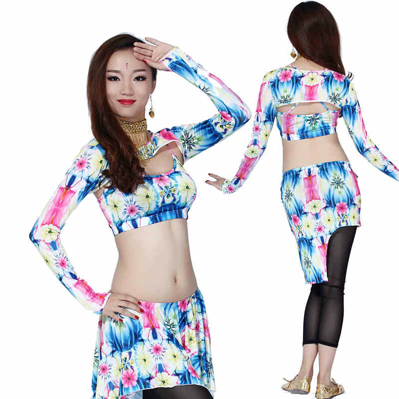 Bellydance Belly Dance Dance Costumes Dancing Women Costume Comfortable Set The New Spring And Summer Suit For Acrobatics Milk