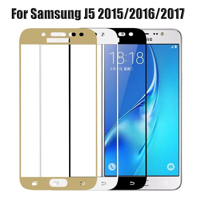 Защита экрана для samsung j5 2017 стекло для samsung Galaxy J5 Prime 2016 J5 Pro 2017 J530f J 5 2015 защитное закаленное стекло
