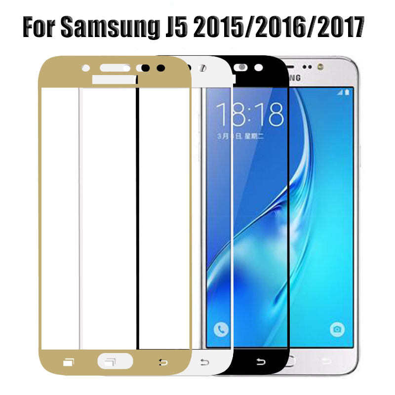 Screen Protector for <font><b>Samsung</b></font> <font><b>j5</b></font> 2017 <font><b>Glass</b></font> for <font><b>Samsung</b></font> Galaxy <font><b>J5</b></font> Prime 2016 <font><b>J5</b></font> Pro 2017 J530f J 5 2015 Protective tempered <font><b>glass</b></font> image