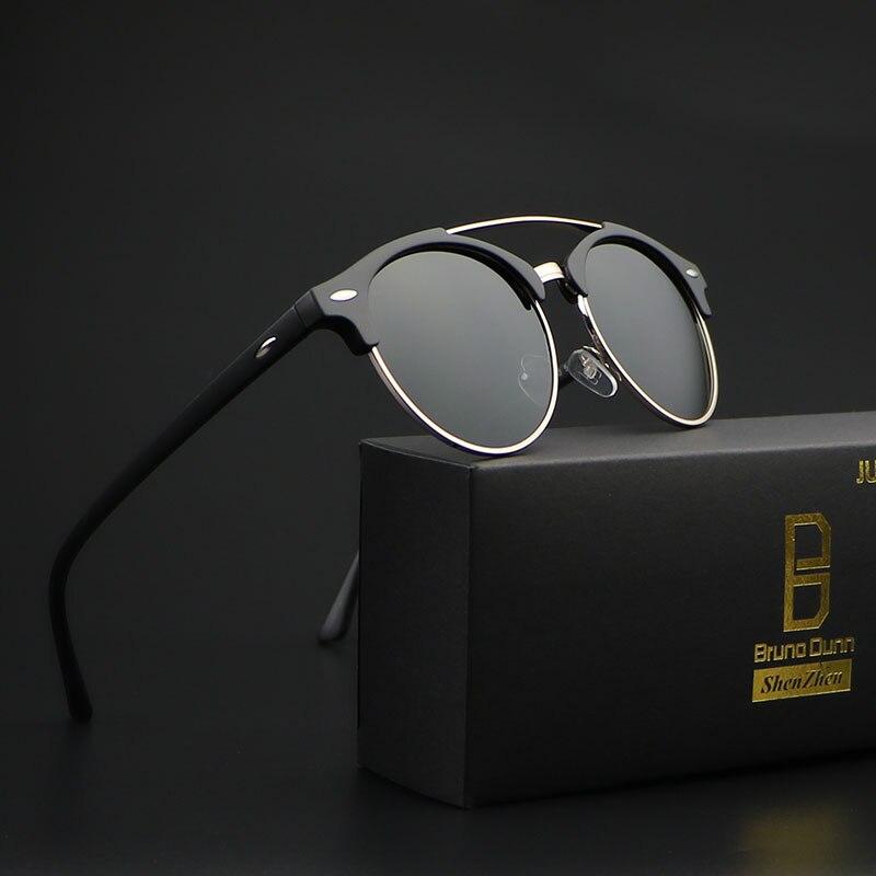 Bruno Dunn Sunglasses Men Women polarized 2019 brand design Sun Glases Ray lunette soleil femme Oculos de sol masculino