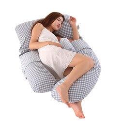 Schwangerschaft Kissen Taille Bauch Multi-funktionale U Form Kissen Schlafen Seite Ergonomie Design Kissen Für Schwangere Frauen Bettwäsche
