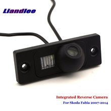 цена на Liandlee For Skoda Fabia 2007-2014 Car Rear View Backup Parking Camera Rearview Reverse Camera / SONY CCD HD Integrated