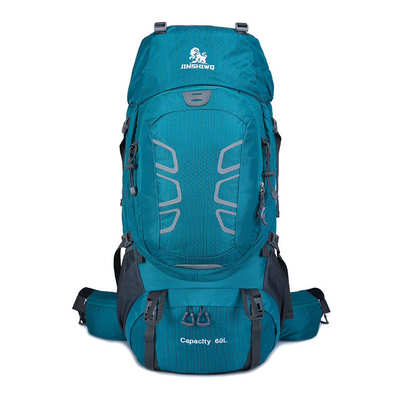 60L Outdoor bag nylon Waterproof hiking Backpack Camping Rucksack Mountaineering Aluminum alloy bracket Bag Climbing Backpacks paul mitchell лак для волос средней фиксации super clean spray 300 мл page 8