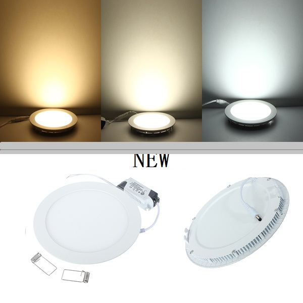 Ceiling Lights Ceiling Lights & Fans Punctual New Special Thin Led Panel Lamp Warm White Cool White Ac 85-265v Home Decoration Light Recessed Ceiling Spot Lamp 4w 9w 12w 24w