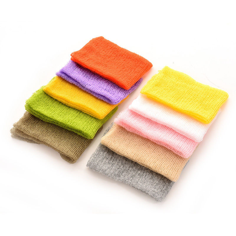 New Arrive Mohair baby photography props Newborn Photography Wraps Hand Flower Headband Baby Accessories Photo Accessories