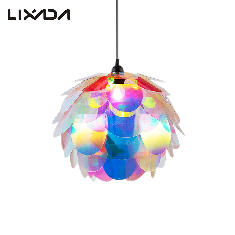 50 pcs diy kit colorful pine cone pendant light pp jigsaw lamp iq 50 pcs diy kit colorful pine cone pendant light pp jigsaw lamp iq puzzle chandelier lampshade for holiday home decor living room in led night lights from arubaitofo Choice Image