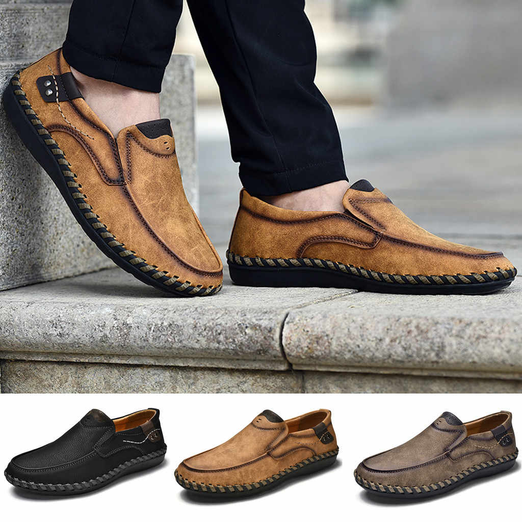 Mens Large Size Casual Fashion Brand Light Casual Men Shoes Men Loafers sport shoes men 2018 casual shoes men sneakers
