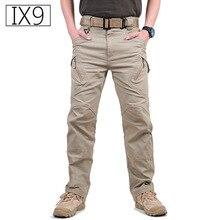TAD IX9 Militar Tactical Cargo hiking font b Pants b font Men Combat SWAT Army font