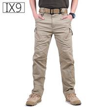 TAD IX9 Militar Tactical Cargo wycieczka spodnie mężczyźni SWAT Army data data powrotu (wojskowe spodnie bawełniane Hunter na zewnątrz co dzień MenTrousers tanie tanio Pełnej długości REGULAR Mieszkanie s archon S-XXL Cargo pants Suknem Mikrofibra COTTON Kieszenie Zipper fly 29 5-40 Midweight